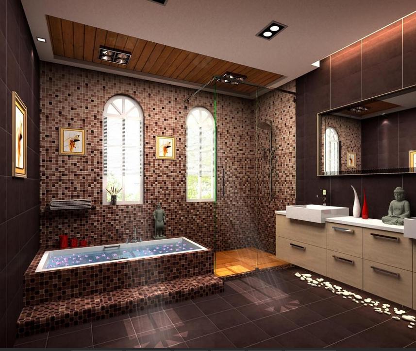 室内装修施工工艺 铺贴陶瓷地面砖