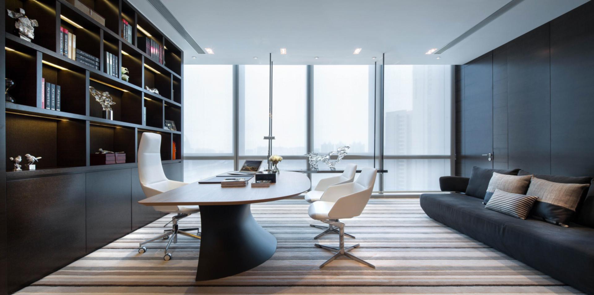 办公空间室内装修设计案例---[商场]